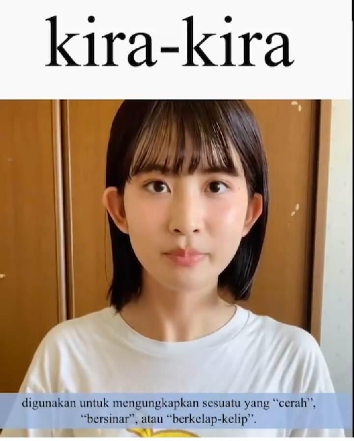 Kira-Kira (Bersinar, Berkilau) – Belajar Bahasa Jepang