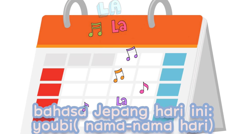 Youbi (Nama-Nama Hari) – Belajar Bahasa Jepang