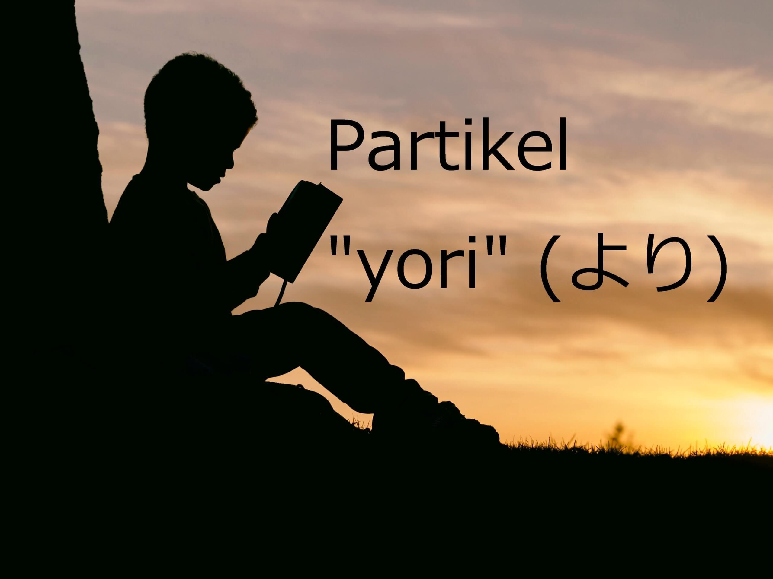 """Partikel """"yori"""" – Belajar Bahasa Jepang"""