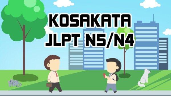 Materi Kosakata JLPT N5/N4