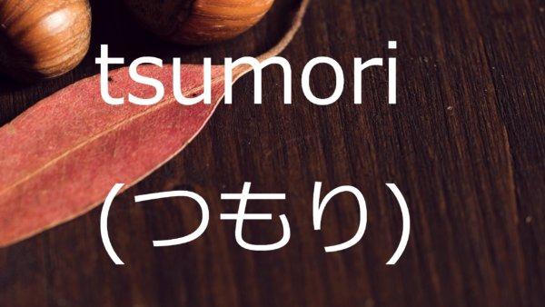 Tsumori (Berencana Untuk) – Belajar Bahasa Jepang